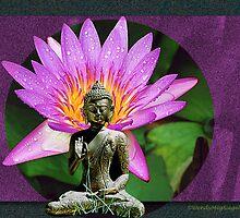 Flowering Buddha by Wendy Meg Siegel