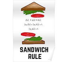 Sandwich Rule Poster