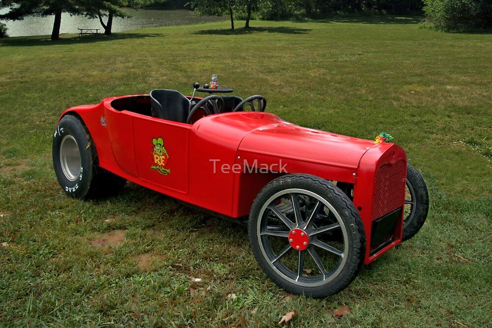 "1923 Ford Model T Roadster ""Rat Fink""   by TeeMack"