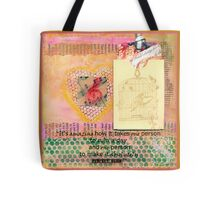 It's Amazing How It Takes One Person - Quote Page  Tote Bag