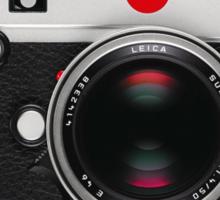 Leica M (Typ 240) - Horizontal Sticker
