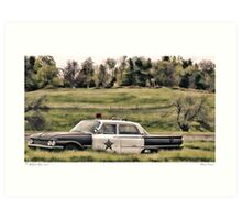 Classic Cruiser Art Print