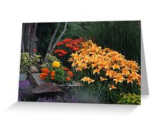Beauty Under The Trees  Greeting Card