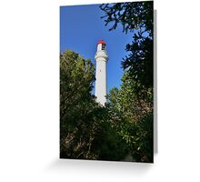 Aireys Inlet - Red Cap Greeting Card