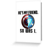 Civil War Quote 2 Greeting Card