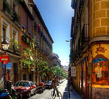Old Streets of Madrid by Tom Gomez