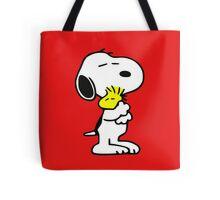 snoopy&woodstock Tote Bag