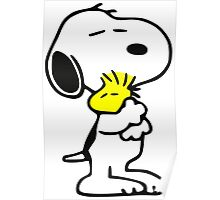 snoopy&woodstock Poster