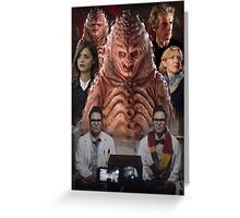 Doctor Who - The Zygon Invasion Greeting Card