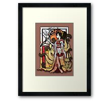 Kitsune of Sunset Framed Print