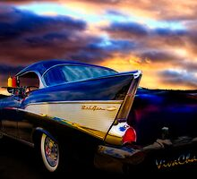 57 Belair Hardtop Cruise is Done by ChasSinklier
