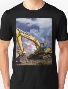 2004 Komatsu PC200LC-7 Track Excavator Unisex T-Shirt
