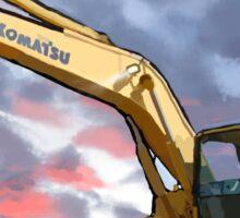 2004 Komatsu PC200LC-7 Track Excavator Sticker