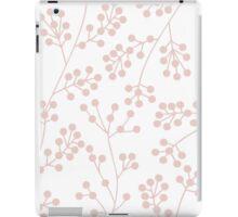 White and lavender botanical pattern iPad Case/Skin