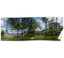 'The Cove Resort' Grays Bay Poster