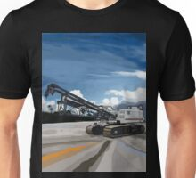 2004 Link Belt 138H5 Lattice Boom Crawler Crane Unisex T-Shirt