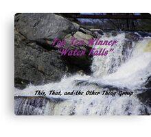 Top Ten - Water Falls Canvas Print