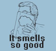 It Smells So Good #1 - John Green by wholockism