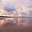 Mirror on Main Beach by Nicole Doyle