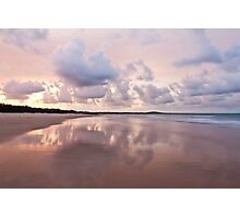 Mirror on Main Beach Photographic Print