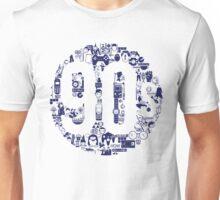 Dark Blue 1990s Unisex T-Shirt