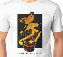 Presenting The PYRO-FIST Unisex T-Shirt