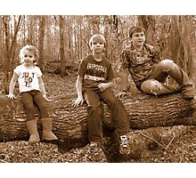 young adventurers!~ Photographic Print