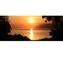 Merimbula Sunset Photographic Print