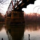 old railroad bridge over the altamaha river by tomcat2170