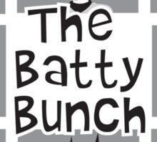 The Batty Bunch Sticker