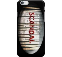 Scandal Shredder iPhone Case/Skin