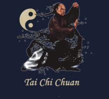 tai chi chuan and yin yang Kids Tee