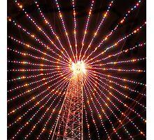Austin texas abstract Christmas Tree photo Photographic Print