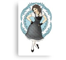 Princess Dancing Canvas Print