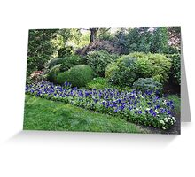Winery Garden 6 Greeting Card