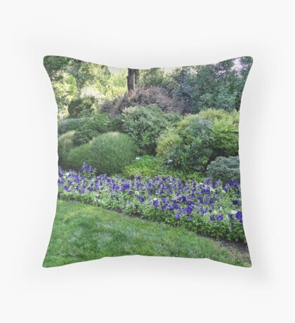 Winery Garden 6 Throw Pillow