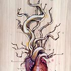 Driftwood Heart 04 by Fay Helfer