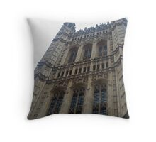 Parliament Building London Throw Pillow