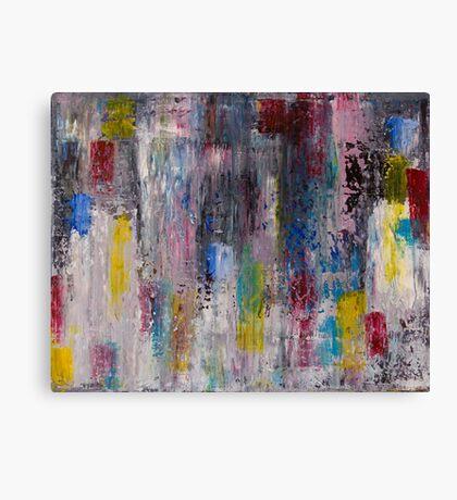 Rainbowfall Canvas Print