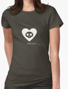 Badd Heart Womens Fitted T-Shirt