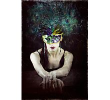 Her Bright Plumage Photographic Print