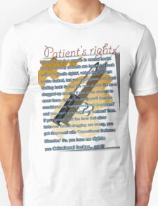 Patient's rights T-Shirt