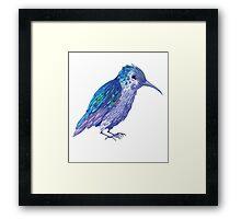 Teeny Tiny Hummingbird Framed Print