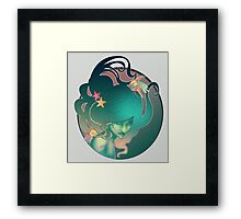 Art Nouveau - Mermaid Framed Print