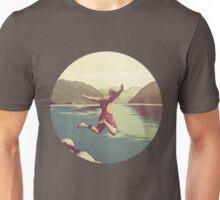 Cliff jumping Unisex T-Shirt