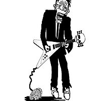 Zombie Guitarist 2 by Peter Maudsley