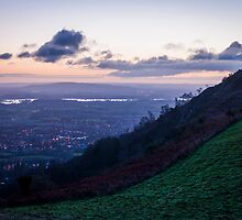 Sunrise over the river Severn by David Isaacson