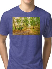 Glow in the forest Tri-blend T-Shirt