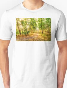 Glow in the forest Unisex T-Shirt