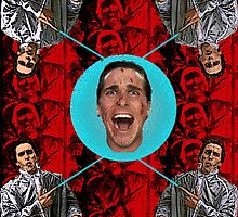 Christian Bale Collage by Geoffgroth